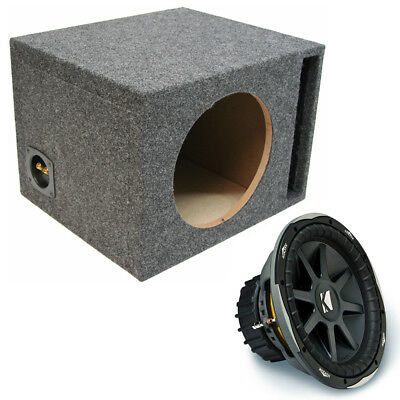 "Kicker 2010 CVX15 Car Audio 15"" Subwoofer Cvx Sub 1000W D2 Sub Box Enclosure"