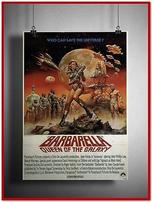 "Barbarella Vintage Style Giant Poster 24""x16"" [RX0339]"