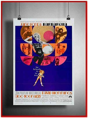 "Barbarella Vintage Style Giant Poster 24""x16"" [RX0341]"