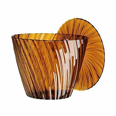Kartell 8805AM sparkle amber table d'appoint-transparent [marron]  NEUF