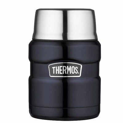 NEW Thermos Stainless King Vacuum Insulated Food Jar 16 Oz. Stainless