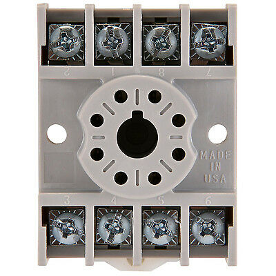 NTE R95-113 -  8 Pin Octal Relay Socket with Screw Terminals