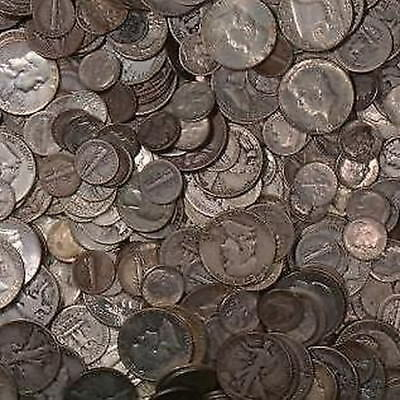 $1 Face Value Junk Silver 90% Bullion Coinage! Investment Silver Great Collect!