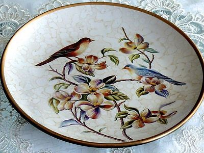 Magnificent Hand Crafted Large Cabinet Plate.