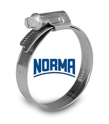 Norma W3 Stainless Steel Worm Drive Clamps 10 Pack