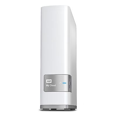 NAS 4TB WD MY CLOUD Personal Cloud Storage, Gigabit Ethernet, Processore Dual-Co