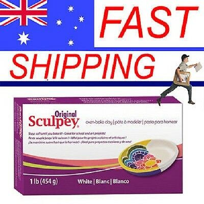Original Sculpey - Oven bake Clay (1lb) 454gm