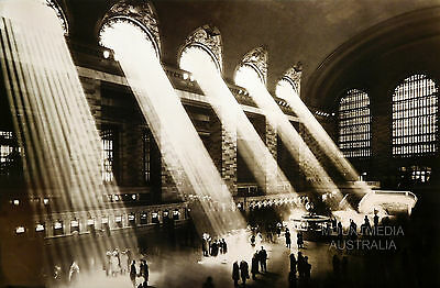 (Laminated) Grand Central Station Poster (61X91Cm)  New Licensed Art