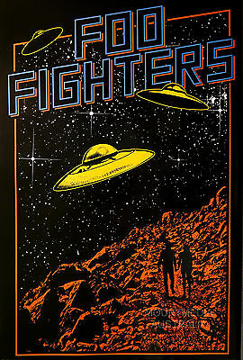 FOO FIGHTERS - UFO POSTER (61x91cm)  NEW LICENSED ART