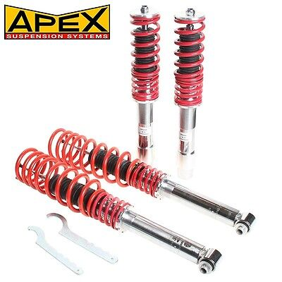 Apex Height Adjustable Sport Coilover Suspension Kit BMW 5 Series E60