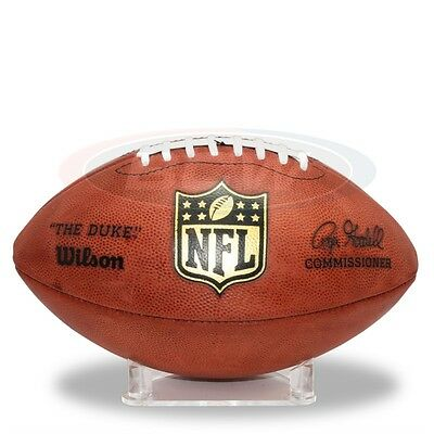 Football, Rugby Ball, American Football or Basketball Acrylic Display Stand X 2