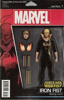 Power Man And Iron Fist #1 2016 Iron Fist Figure Variant