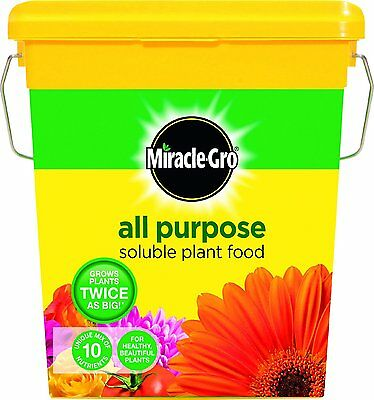 Scotts Miracle Gro All Purpose SOLUBLE PLANT FOOD 2 kg Tub Growth - NEW - UK