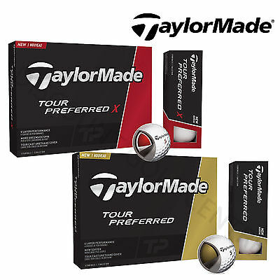 TaylorMade Tour Preferred & Tour Preferred X Golf Balls *MULTIBUY DISCOUNT*
