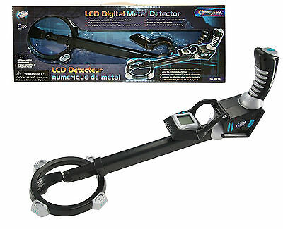 Extendable Digital Metal Detector With LCD Display & Sounds Alert Night Mode