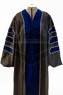 Doctoral Deluxe Graduation Gown FREE TAM W/PURCHASE