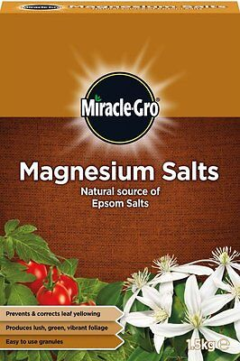 Scotts Miracle-Gro Magnesium Salts Natural Source of Epsom Salts 1.5kg