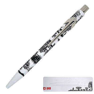 """Caran d'Ache Swiss Made Special Edition Ballpoint Pen, """"Cut up Paper"""" with Tin"""