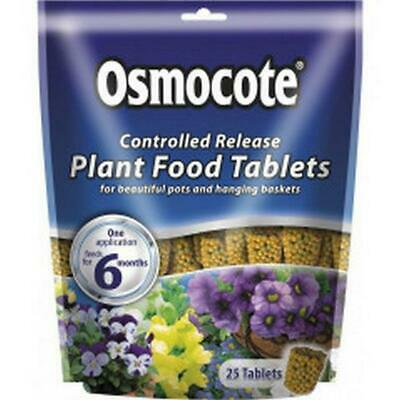 Scotts Osmocote Controlled Release Plant Food Tablets (25)