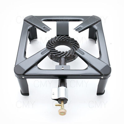 7 KW Large LPG Gas Burner Cooker Cast Iron Gas Boiling Ring Camping Brand