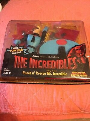 Disney The Incredibles Punch n' Rescue Mr Incredible MIB