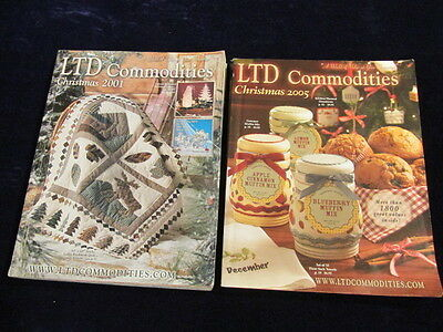 2001 + 2005 LTD Commodities Catalog Lot Toys Gifts for all Free Shipping M3