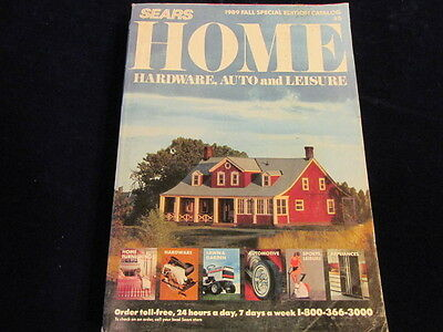 1989 Sears Catalog Mail Order HOME Hardware Automotive Leisure Free Shipping M3
