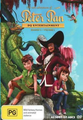 The New Adventures Of Peter Pan - Season 1 Volume 1 DVD R4 Brand New!