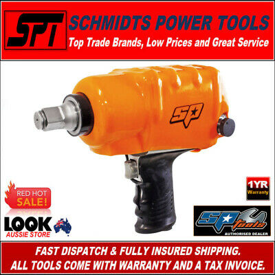 "SP TOOLS SP-1156TR AIR IMPACT WRENCH 3/4"" DRIVE PNEUMATIC RATTLE GUN 1290Nm"