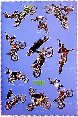 (LAMINATED) FREESTYLE MOTORCROSS POSTER (91x61cm)  NEW LICENSED ART
