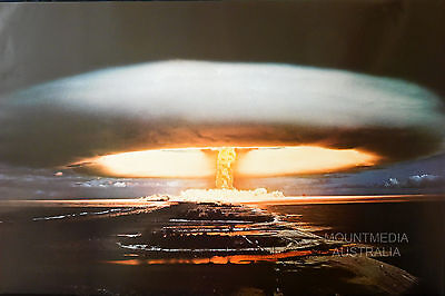 (LAMINATED) HYDROGEN BOMB 1974 POSTER (61x91cm)  NEW LICENSED ART