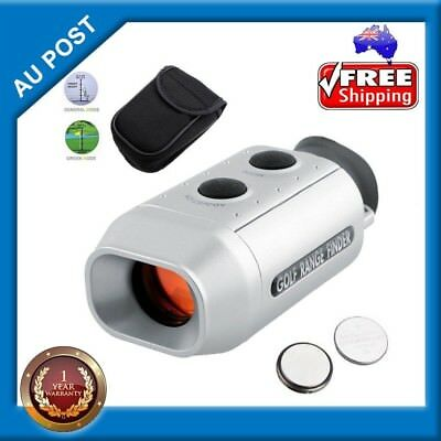 Digital 7X Golf Scope Laser Rangefinder Monocular Distance Meter Range Finder AU