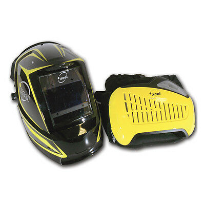 Xcel 9-13 Air Fed Welding Helmet System With Papr Belt And Carry Bag.