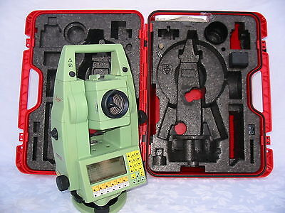 "Leica Tcr1103 3"" Total Station Only, For Surveying, One Month Warranty"