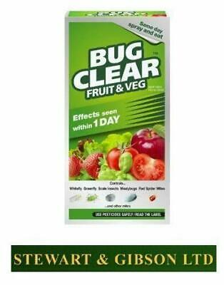 Scotts Bug Clear Fruit and Veg Insecticide 250ml Concentrate