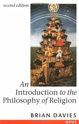 An Introduction to the Philosophy of Religion (OPUS)-Brian Davies