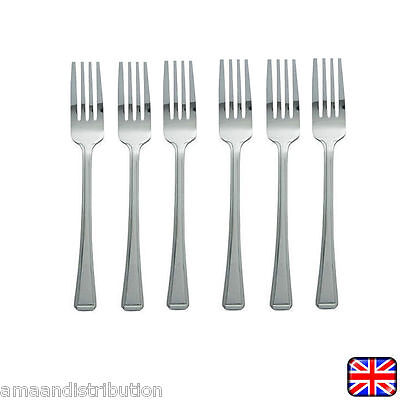12 X Stainless Steel Cutlery Dining Table Forks Dinner Forks 12Pcs Brand New