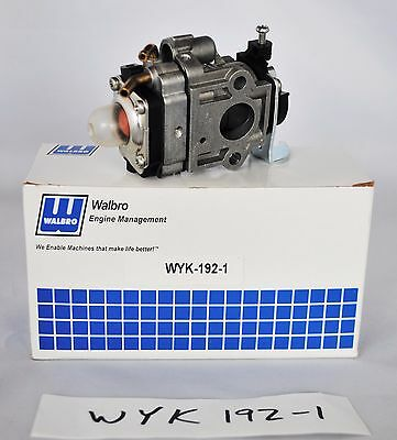 GENUINE OEM  Walbro WYK-192 Carburetor for Echo RedMax Shindaiwa WYK-192-1 WYK1