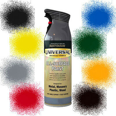 Rust-Oleum Universal All-Surface Spray Paint Hammered Metallic FREE RETURNS