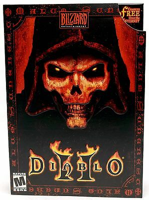 NEW SEALED Diablo II 2 Video Game for PC/MAC Computer Windows 10/8/7/XP blizzard