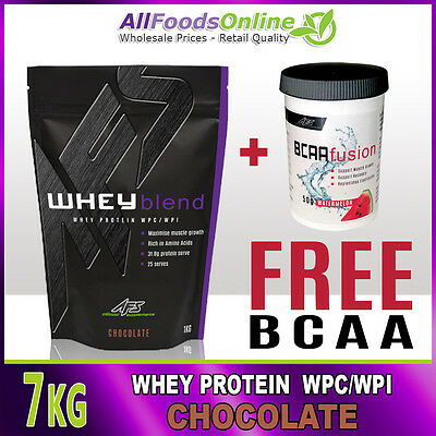 Whey Protein Powder - Wpc / Wpi - Whey Blend - Chocolate - 7Kg