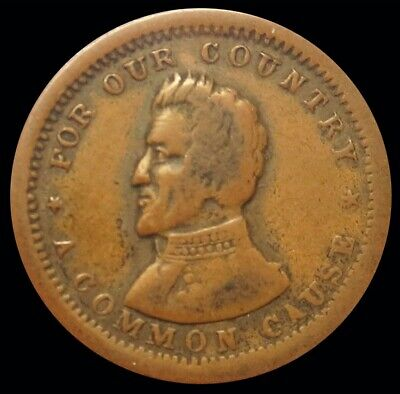 1861-1865 Civil War For Our Country Patriotic Copper Token Fuld # 135/440