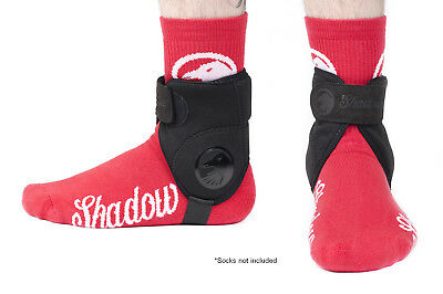 The Shadow Conspiracy Super Slim Ankle Guards Black New
