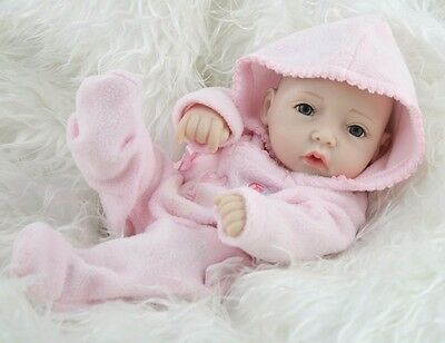 Handmade Real Looking Newborn Baby Vinyl Silicone Realistic Reborn Doll Boy Girl