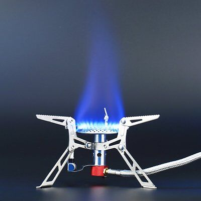 Portable Gas Stove Butane Propane Burner 3000W Outdoor Camping Hiking Picnic FE