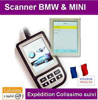 Scanner C110 Bmw Mini Interface Valise Diagnostique Obd2 Obdii Valise Diagnostic