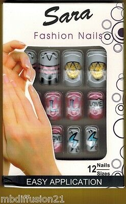 12 FAUX ONGLES//CAPSULE//FRENCH.MANUCURE//SOIREE.FETE.MARIAGE//RéF.S1