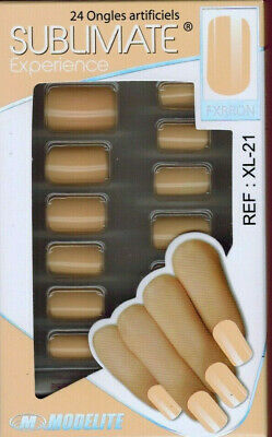 24 FAUX ONGLES-CAPSULE//FRENCH.MANUCURE - SOIREE.FETE.MARIAGE -RéF.XL21-MODELITE