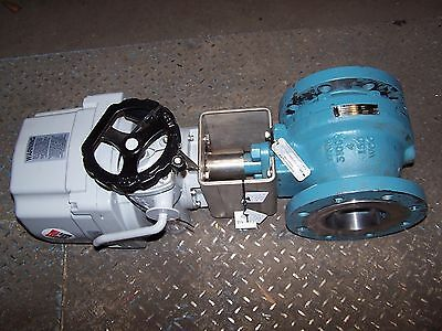"""New Cameron Emerson W-K-M 4"""" Carbon Steel Actuated Ball Valve 4F/2110 Hq0050-6"""