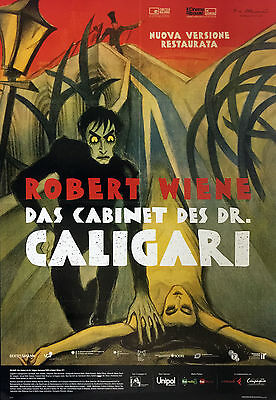 Original Movie Posters 100x140 cm IL GABINETTO DEL DOTTOR CALIGARI (2016)